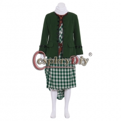 Cosplaydiy Outlander TV series cosplay costume Jamie Fraser costume Kilt men's Scottish skirt Outfit Custom Made