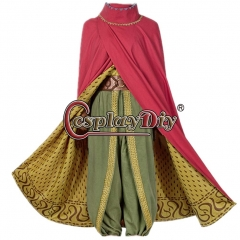 Cosplaydiy Raya and The Last Dragon Cosplay Costume Raya Battle Suit Women Cosplay Costume Outfit With Cloak Dragon Princess Dress Outfit